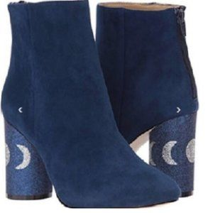 Katy Perry Blue Suede Silver Moon 7